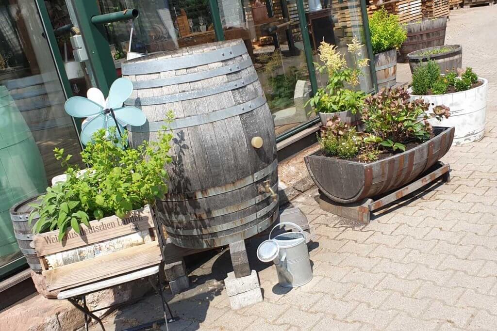 Regenfass aus Holz bei Wilhelm Eder in Bad Dürkheim kaufen
